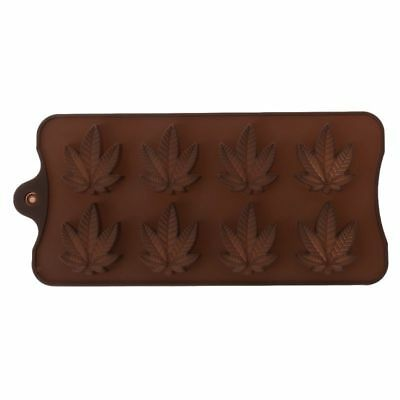 Ice Cube Silicone Maple Leaf Mold Chocolate Cookie Fondant Kitchen Baking Supply