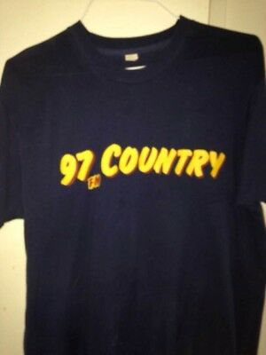 Country 97 Radio T-shirt Sized XL