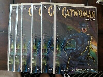 DC: Catwoman Defiant (1992) #1       VF/M [9.0] to NM [9.2] [ Dealer lot of 6 ]