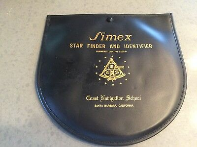 Vintage Simex Star Finder and Identifier