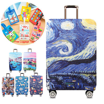 "Elastic Luggage Suitcase Cover Protective Dust-proof Case Anti Scratch 18""-32"""