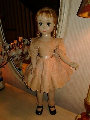 """Vintage Madame Alexander Doll Maggie Face Polly Pigtails 20"""""""