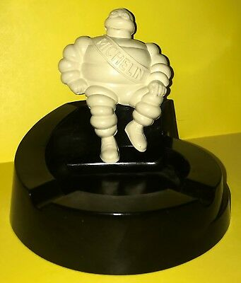 Vintage Bakelite Michelin Man Ash Tray, Made in England, Man Cave Tires Service