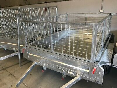 trailer cage 7x5 600 mm 7x5x2ft Galvanised