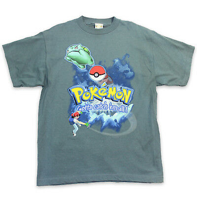 69ccacc9e 90s POKEMON Vintage T Shirt S │ Nintendo Pikachu Video Game Pokemon Go Retro  Tee