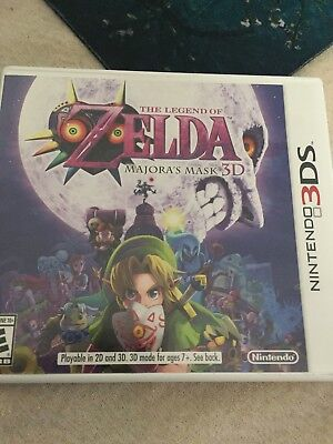 Legend of Zelda: Majora's Mask (Nintendo 3DS, 2015)