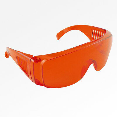Dental lab Protective Red Eye Goggles Glasses Eyewear protection for LED light