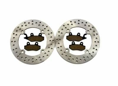 2011-2017 Can-Am Commander 1000 4x4 XT Front Brake Rotors and Front Brake Pads
