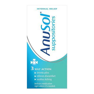 Anusol Haemorrhoids Suppositories for Piles Treatment 12 - 6 Packs