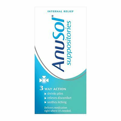 Anusol Piles Suppositories for Haemorrhoids 24 - 12 Packs