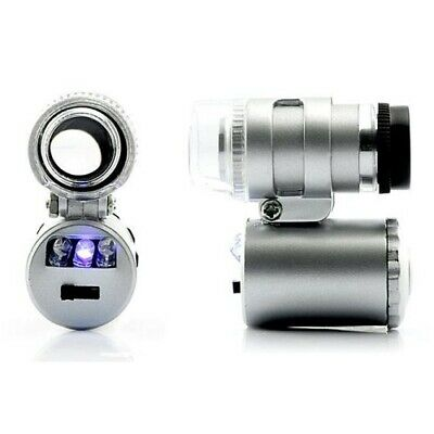 Mini Microscope Magnifier for Plants / Jewelry with LED (60X)