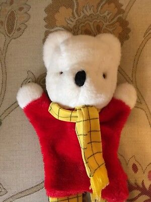 Vintage Rupert The Bear Hand Puppet.