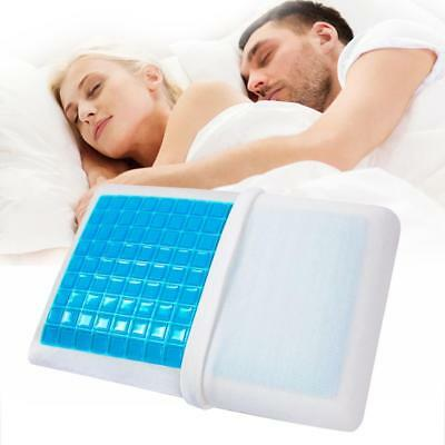 Gel Slow-Rebound Memory Foam Pillow Cushion Bedding Pillows Health Care