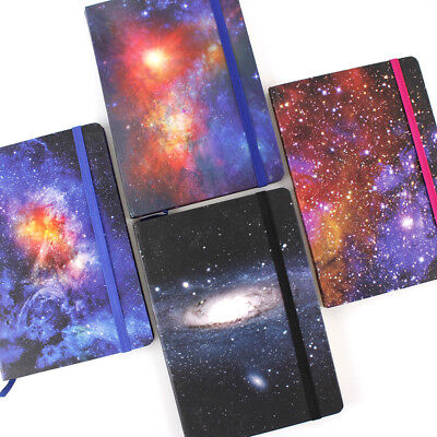 """The Universe"" 1pc Beautiful Hard Cover Diary Notebook Lined Freenote Journal"