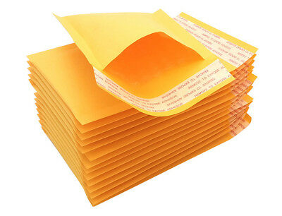 "9*13cm 3.5""*5"" SMALL SELF SEAL KRAFT BUBBLE MAILERS PADDED ENVELOPES BAG UK"