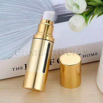 1pc Vacuum Cosmetic Lotion Treatment Container Travel Empty Airless Pump Bottle
