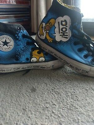 Converse Chuck Taylor Homer Simpson Sneakers Unisex