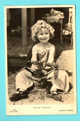 Shirley Temple # 2915 Vintage Photo Pc. Publisher Italy 133