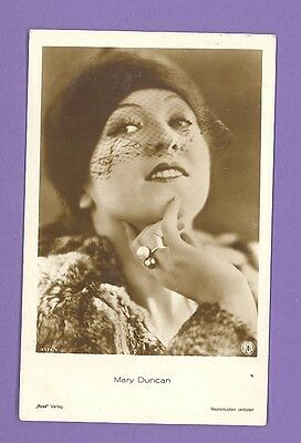 Mary Duncan # 4174/1 Vintage Photo Pc. Publisher Germany 886