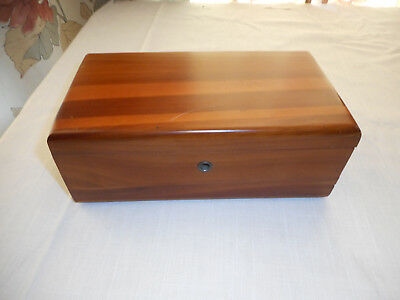 Vintage Lane Cedar Chest Trinket Box Anderson Furniture Anderson, Indiana