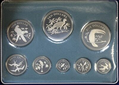 Belize 1974 Proof Coin Set 2.837 ozt ASW