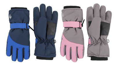 Heat Holders - Childrens Thick Winter Warm Waterproof Thermal Snow Ski Gloves