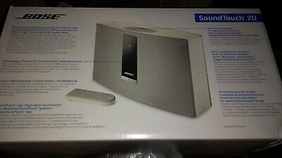Bose White SoundTouch 20 Series III Wireless (Bluetooth/Wi-Fi) Speaker System