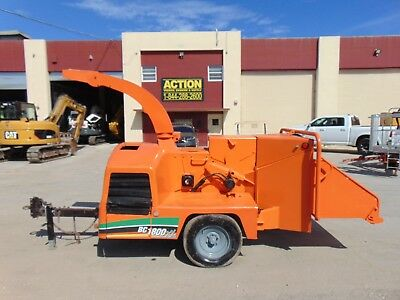 Vermeer Bc1000Xl Wood Chipper - 1,879 Hours - Cummins Diesel -  See Video!