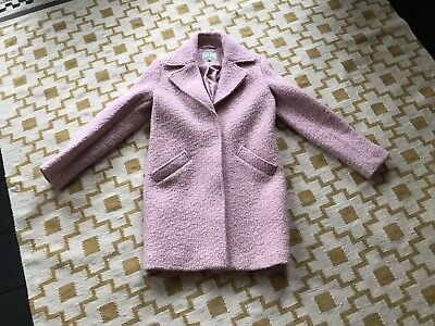 Dickens And Jones Size 10 Coat Pink