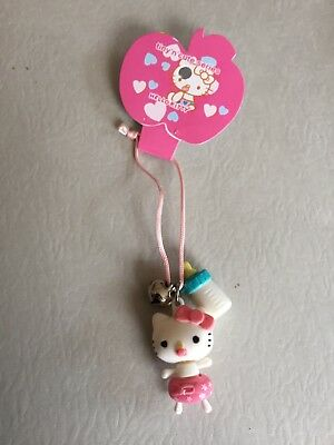 Sanrio Hello Kitty cellphone Charm key chain Tiny Cute Collection