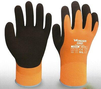 Wondergrip Thermo Plus - Waterproof Window Cleaning Gloves for Water Fed Poles