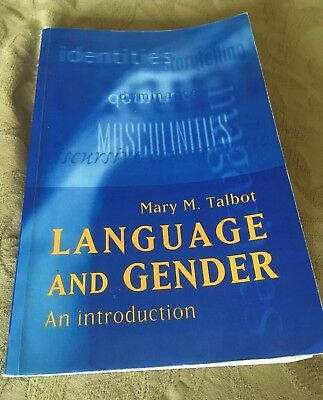 Language and Gender: An Introduction by Mary M. Talbot (Paperback, 1998)