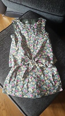 Next Playsuit Girl flowers cute Age 5