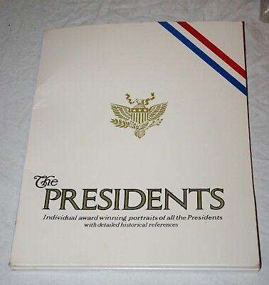 VINTAGE UNOPENED 1970's PORTRAITS OF THE PRESIDENTS COLLECTION WASHINGTON - FORD
