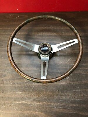 "Original 1969 1970 Buick Gs  Comfort Grip 15"" Steering Wheel 918"