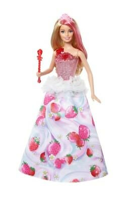 Barbie Dreamtopia Sweetville Princess Doll with 4 Lights and Sounds NIB