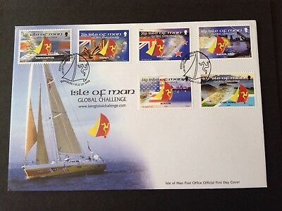 Isle Of Man 2000 First Day Cover Global Challenge