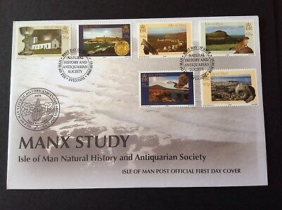 Isle Of Man 2006 First Day Cover Manx Study