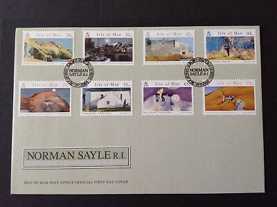 Isle Of Man 2007 First Day Cover Norman Sayle