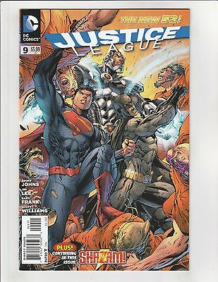 Justice League (2011) #9 NM- 9.2 DC Comics Jim Lee Art, Shazam,Superman,Batman