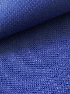 Zweigart Royal Blue 14 count Aida  50 cm x 55 cm