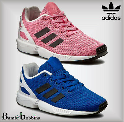 sale retailer 4a33e 8437e ADIDAS BOYS GIRLS ZX Flux Trainers Size Infant 3 4 5 6 7 8 9 Child 10 11 12  1 2