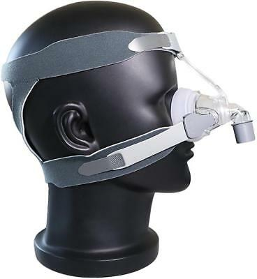 BMC N4 | CPAP Nasal Complete Mask -Fits All CPAP Machine (ResMed, Philips, etc)