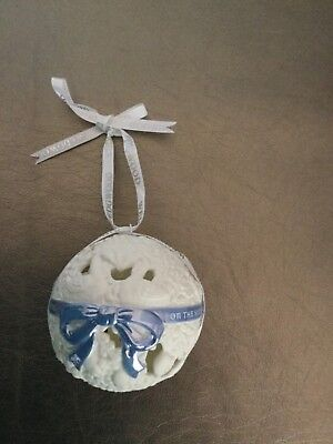 WEDGWOOD 6TH Day of Christmas Ornament