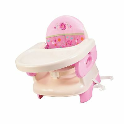 Summer Infant Deluxe Comfort Folding Booster Seat PINK OPEN BOX #723