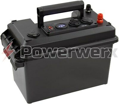 Powerwerx PWRbox-PP Portable PowerBox for 12-20Ah Bioenno Batteries