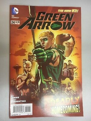 DC Comics - Green Arrow #24 The New 52 - 2013 - BN - Bagged and Boarded