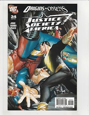 Justice Society of America (2006) #24 NM- 9.2 DC Alex Ross Cover Origins & Omens