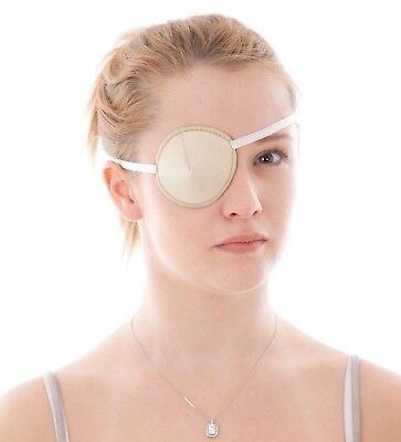 Medical Eye Patch IVORY Soft and Washable