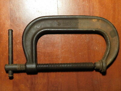 """Armstron vintage 406 6"""" Drop Forged C-Clamp"""